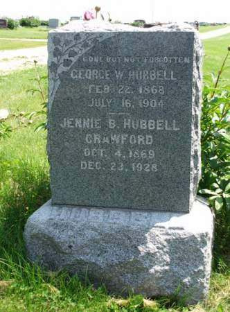 HUBBELL, JENNIE B. - Madison County, Iowa | JENNIE B. HUBBELL