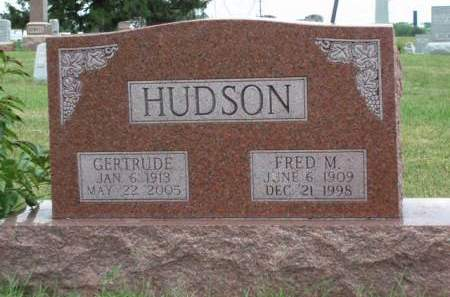 HUDSON, GERTRUDE LORETTA - Madison County, Iowa | GERTRUDE LORETTA HUDSON