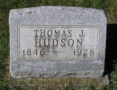 HUDSON, THOMAS JEFFERSON - Madison County, Iowa | THOMAS JEFFERSON HUDSON