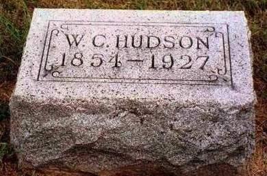 HUDSON, WILLIAM C. - Madison County, Iowa | WILLIAM C. HUDSON