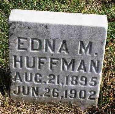 HUFFMAN, EDNA M. - Madison County, Iowa | EDNA M. HUFFMAN