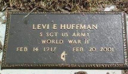 HUFFMAN, LEVI ELMOND - Madison County, Iowa | LEVI ELMOND HUFFMAN