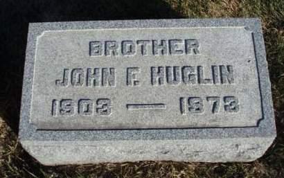HUGLIN, JOHN HENRY FRANKLIN - Madison County, Iowa   JOHN HENRY FRANKLIN HUGLIN