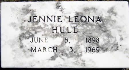 HULL, JENNIE LEONA - Madison County, Iowa | JENNIE LEONA HULL
