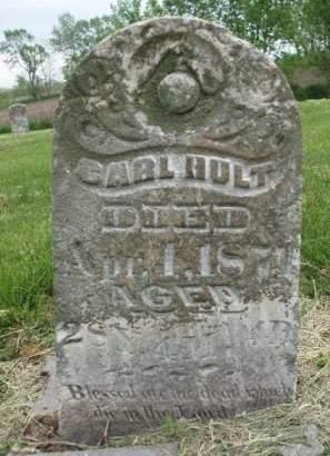 HULT, CARL - Madison County, Iowa | CARL HULT