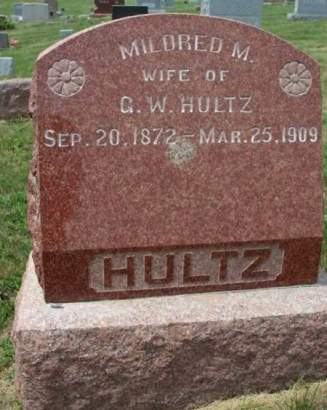 HULTZ, MILDRED M. - Madison County, Iowa | MILDRED M. HULTZ