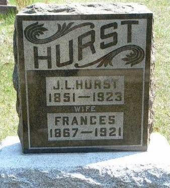 HURST, FRANCES LUCINDA - Madison County, Iowa | FRANCES LUCINDA HURST