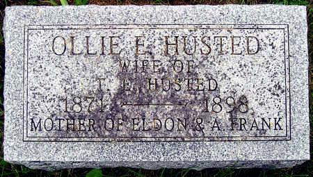 HUSTED, OLLIE E. ALBERTINA - Madison County, Iowa | OLLIE E. ALBERTINA HUSTED