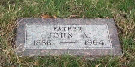 HUSTON, JOHN ALBERT - Madison County, Iowa | JOHN ALBERT HUSTON