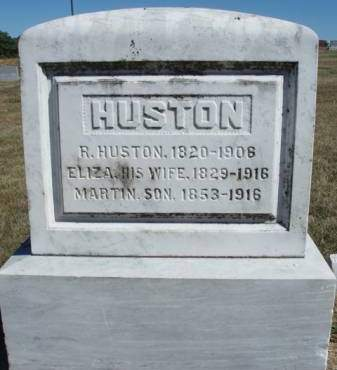 HUSTON, ELIZA - Madison County, Iowa | ELIZA HUSTON