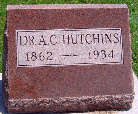 HUTCHINS, ARTHUR C., DR. - Madison County, Iowa   ARTHUR C., DR. HUTCHINS
