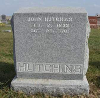 HUTCHINS, JOHN - Madison County, Iowa | JOHN HUTCHINS