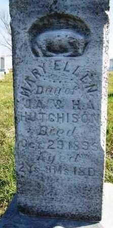 HUTCHISON, MARY ELLEN - Madison County, Iowa | MARY ELLEN HUTCHISON