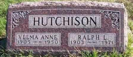 HUTCHISON, VELMA ANNE - Madison County, Iowa | VELMA ANNE HUTCHISON