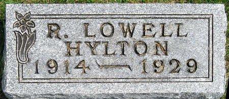 HYLTON, RICHARD LOWELL - Madison County, Iowa | RICHARD LOWELL HYLTON