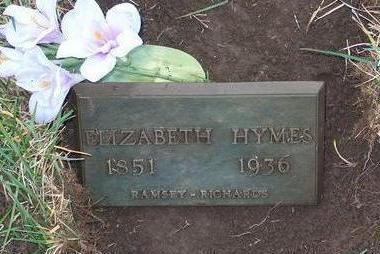 HYMES, ELIZABETH CATHRINE - Madison County, Iowa | ELIZABETH CATHRINE HYMES