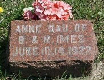 IMES, SARAH ANNE - Madison County, Iowa | SARAH ANNE IMES