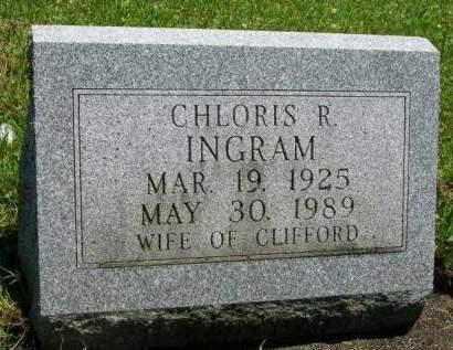 INGRAM, CHLORIS RACHEL - Madison County, Iowa | CHLORIS RACHEL INGRAM