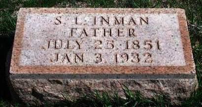 INMAN, STAMPER L. - Madison County, Iowa   STAMPER L. INMAN