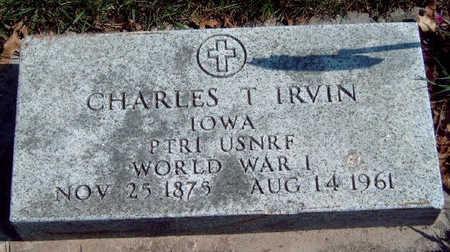 IRVIN, CHARLES T. - Madison County, Iowa   CHARLES T. IRVIN
