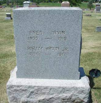 IRVIN, FRED A. - Madison County, Iowa | FRED A. IRVIN