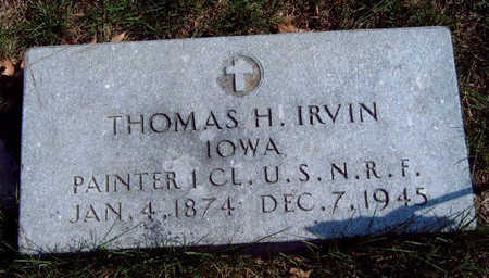 IRVIN, THOMAS H. - Madison County, Iowa | THOMAS H. IRVIN