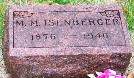 ISENBERGER, MARCUS MILES (MARK) - Madison County, Iowa | MARCUS MILES (MARK) ISENBERGER