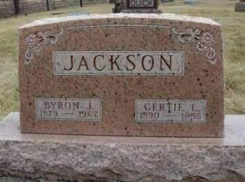 JACKSON, GERTRUDE LENORE  (GERTIE) - Madison County, Iowa | GERTRUDE LENORE  (GERTIE) JACKSON