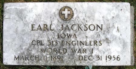 JACKSON, EARL - Madison County, Iowa   EARL JACKSON