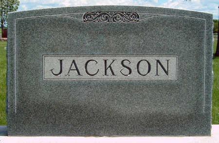 JACKSON, FAMILY STONE - Madison County, Iowa   FAMILY STONE JACKSON
