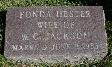 JACKSON, FONDA - Madison County, Iowa | FONDA JACKSON
