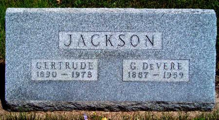 JACKSON, GIVEN DEVERE - Madison County, Iowa | GIVEN DEVERE JACKSON
