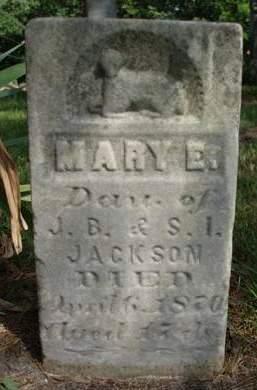 JACKSON, MARY E. - Madison County, Iowa   MARY E. JACKSON