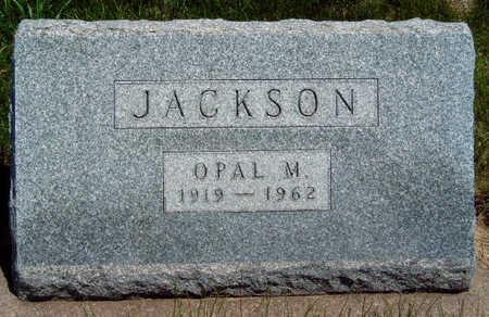 JACKSON, OPAL MARIE - Madison County, Iowa | OPAL MARIE JACKSON