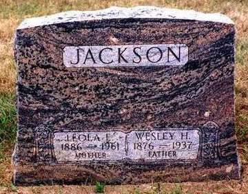 JACKSON, LEOLA EMMA - Madison County, Iowa | LEOLA EMMA JACKSON