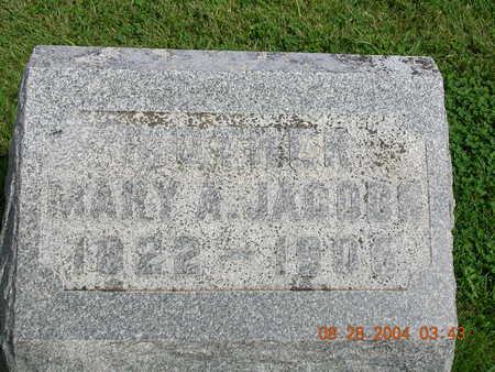 JACOBS, MARY A. - Madison County, Iowa   MARY A. JACOBS