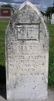 JACOBS, MARY - Madison County, Iowa | MARY JACOBS