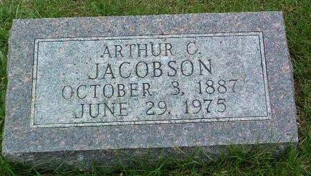 JACOBSON, ARTHUR CARL - Madison County, Iowa   ARTHUR CARL JACOBSON