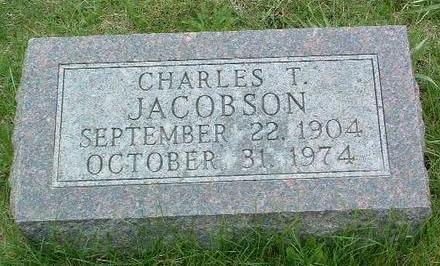 JACOBSON, CHARLES THEODORE - Madison County, Iowa | CHARLES THEODORE JACOBSON
