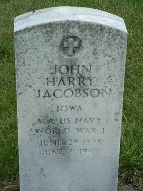 JACOBSON, JOHN HARRY - Madison County, Iowa | JOHN HARRY JACOBSON
