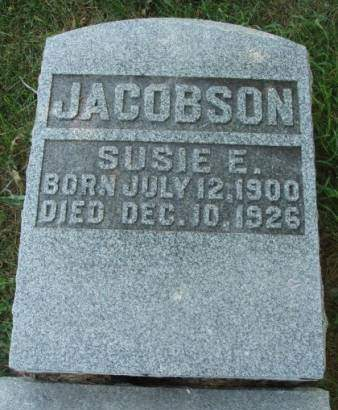 JACOBSON, SUSAN ELIZABETH - Madison County, Iowa | SUSAN ELIZABETH JACOBSON