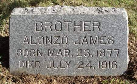 JAMES, ALONZO - Madison County, Iowa | ALONZO JAMES