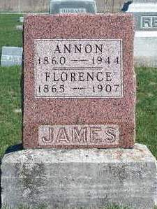 JAMES, ANNON - Madison County, Iowa | ANNON JAMES