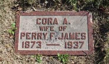 JAMES, CORA AUSTELLA - Madison County, Iowa | CORA AUSTELLA JAMES
