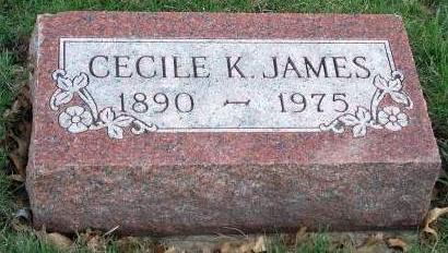 JAMES, CECILE PHOEBE - Madison County, Iowa | CECILE PHOEBE JAMES