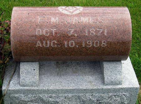 JAMES, FRANCIS MARION  (F. M.) - Madison County, Iowa | FRANCIS MARION  (F. M.) JAMES