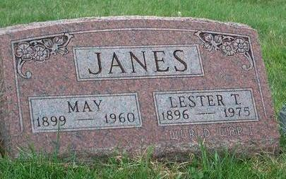 JANES, CLARISSA  MAY - Madison County, Iowa | CLARISSA  MAY JANES