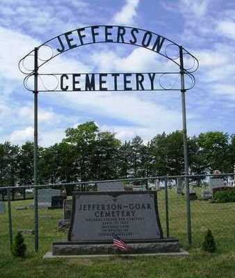 JEFFERSON - GOAR, CEMETERY - Madison County, Iowa | CEMETERY JEFFERSON - GOAR
