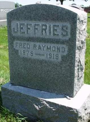 JEFFRIES, FRED RAYMOND - Madison County, Iowa | FRED RAYMOND JEFFRIES
