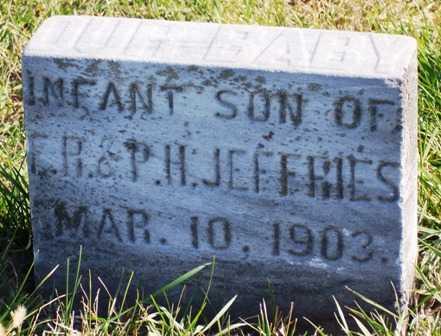JEFFRIES, INFANT - Madison County, Iowa | INFANT JEFFRIES